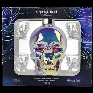Crystal Head / Kanada Aurora Vodka Geschenk-Set 0.7 l 40% vol