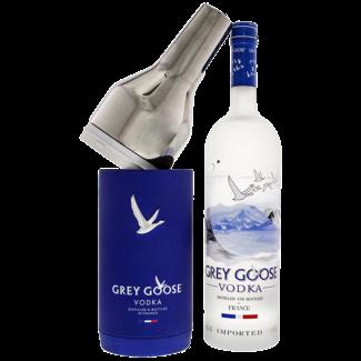 Grey Goose Distillery / Frankreich, Poitou-Charentes Grey Goose Vodka Exclusive Chiller Pack 1.0 l 40% vol