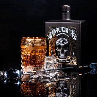 Amuerte Distillery / Belgien Coca Leaf Gin Black 0.7 l 43% vol