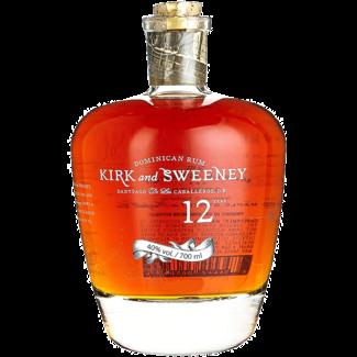 Kirk & Sweeney / Karibik, Dom. Republik Kirk & Sweeney 12 Years Old Rum 0.7 l 40% vol - Copy