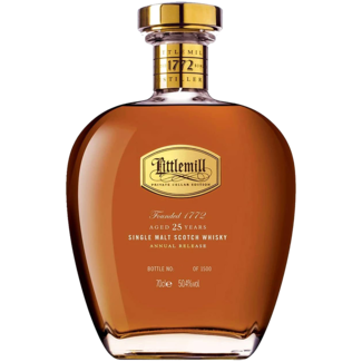Littlemill / Schottland, Lowlands Littlemill 25 Years Single Malt Whisky 0.70 l 50.40% vol