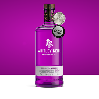 Whitley Neill / England Rhubarb & Ginger Gin 0.7 l 43% vol