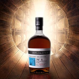 Destilerias Unidas / Venezuela Diplomático Distillery Collection No.1 Batch Kettle Rum 0.7 l 47% vol
