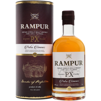Rampur / Indien PX Sherry Finish Indian Single Malt Whisky 0.7 l 45% vol