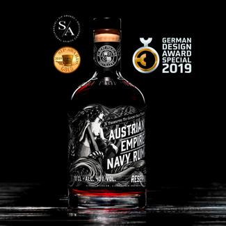 Albert Michler Distillery / UK, Bristol Austrian Empire Navy Rum Reserva 1863 0.7 l 40% vol