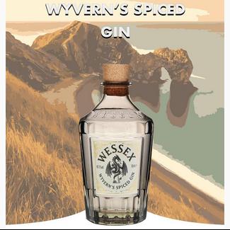 Wessex Distillery / UK, Broxbourne Wyvern's Spiced Gin 0.7 l 40.3% vol