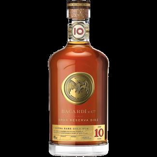 Bacardi / Kuba Bacardi 10 Anos Gran Reserva Diez Extra Rare Gold Rum 1.0 l 40% vol