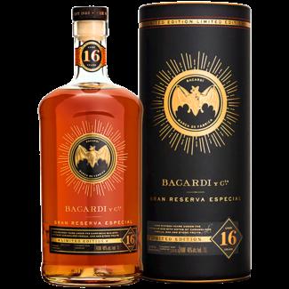 Bacardi / Kuba Bacardi 16 Years Gran Reserva Especial Limited Edition Rum 1.0 l 40% vol