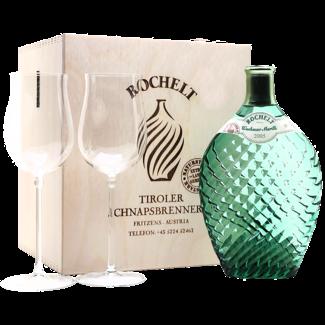 Rochelt / Österreich, Tirol Wachauer Marille Naturstark 0.35 l 60% vol