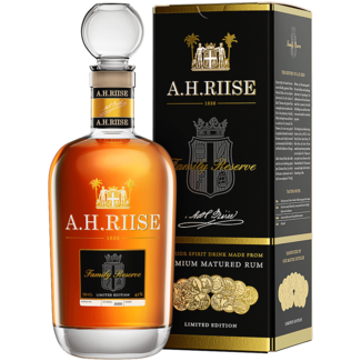A. H. Riise / Dänemark, Dragør  Family Reserve Solera Rum 1838 Limited Ed. 0.7 l 42% vol