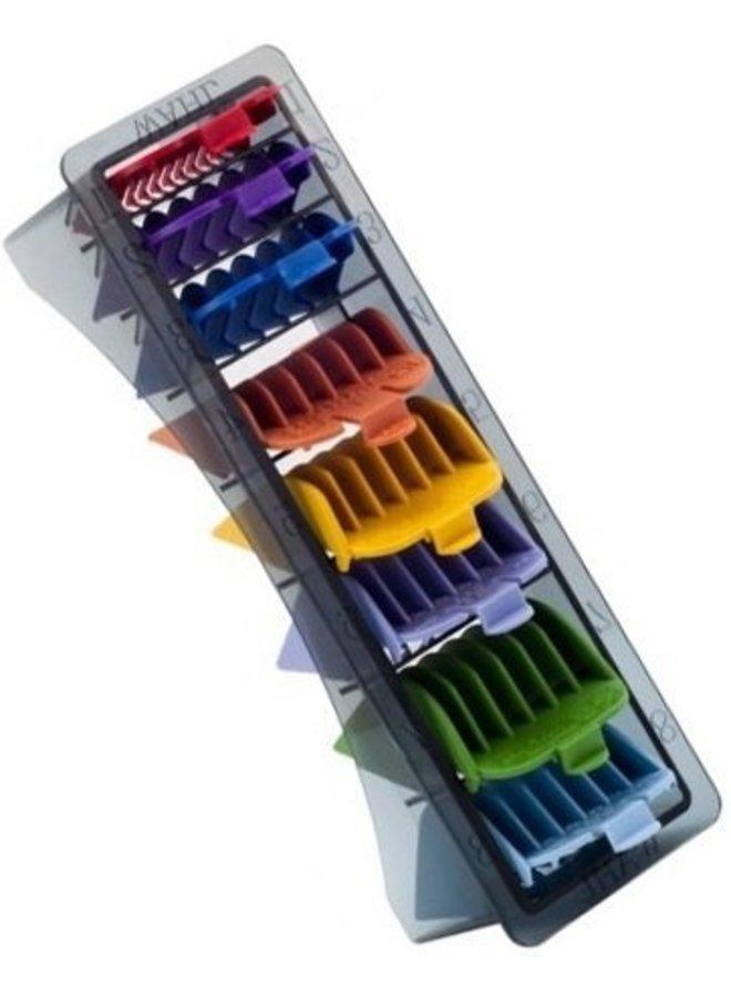 Clipper Attachment Comb Set Plastic Colour