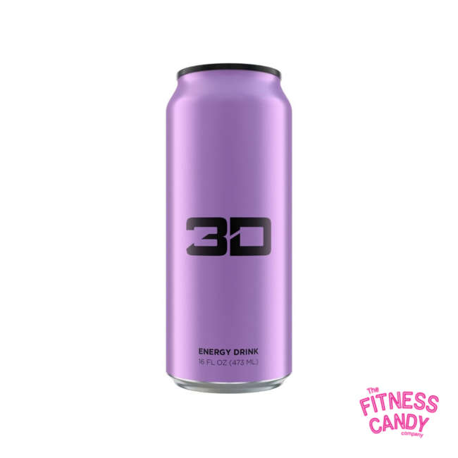 3D 3D ENERGY DRINK Purple