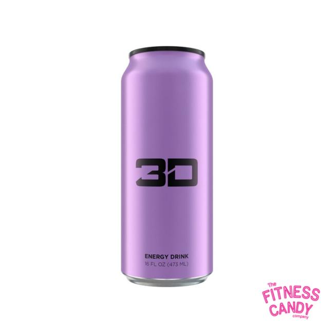 3D ENERGY DRINK Purple