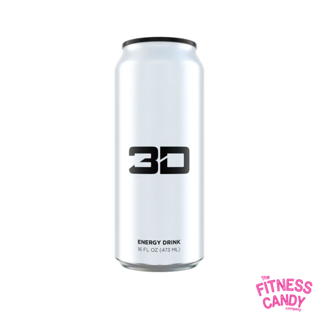 3D 3D ENERGY DRINK White