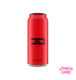 3D 3D ENERGY DRINK Red