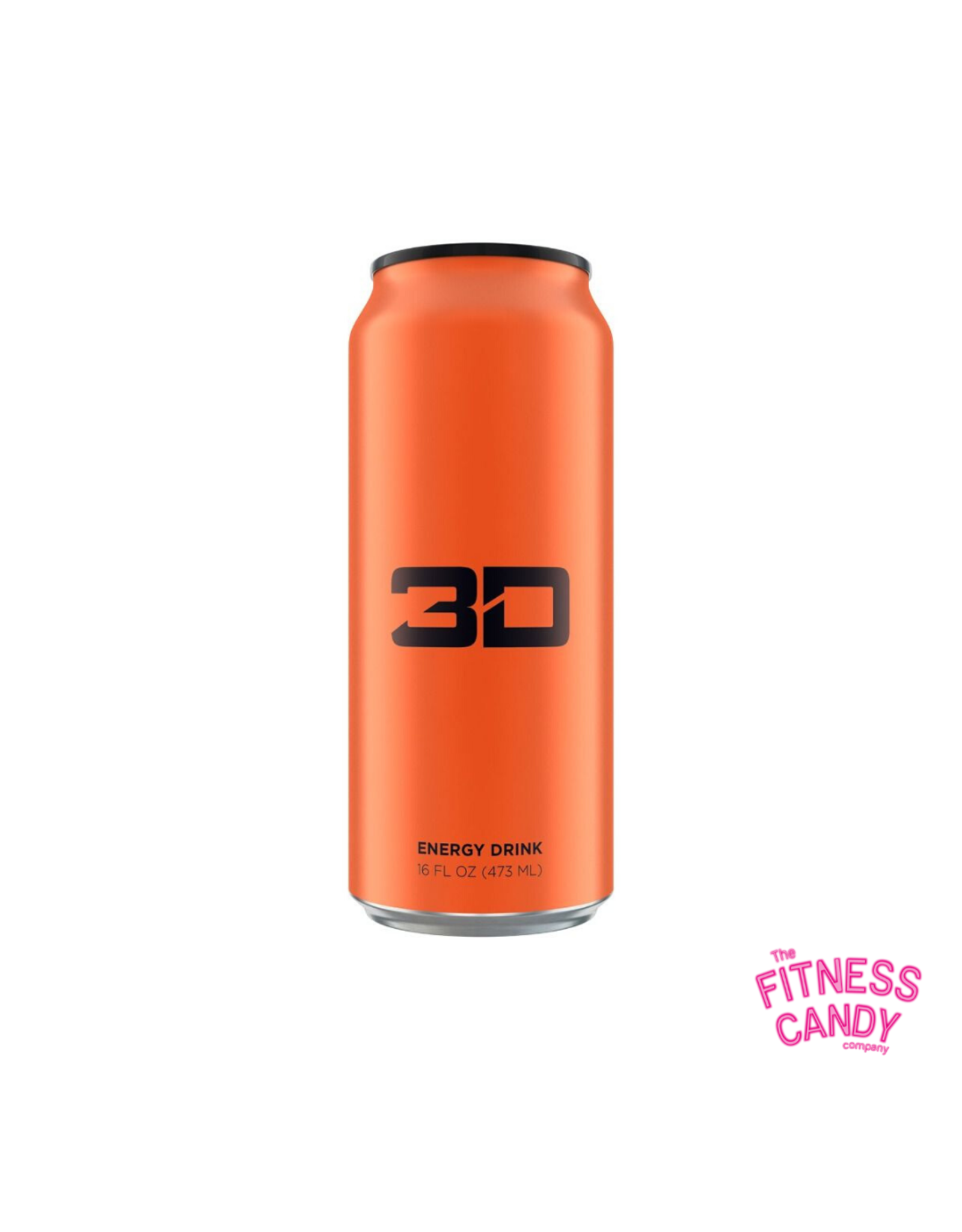 3D 3D ENERGY DRINK Orange