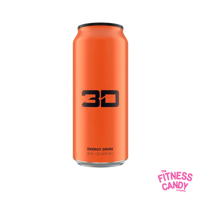 3D 3D ENERGY DRINK Orange