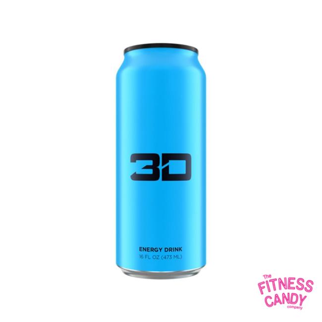 3D 3D ENERGY DRINK Blue
