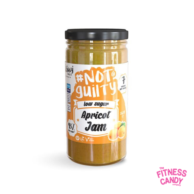 THE SKINNY FOOD CO #NOTGUILTY Apricot Jam