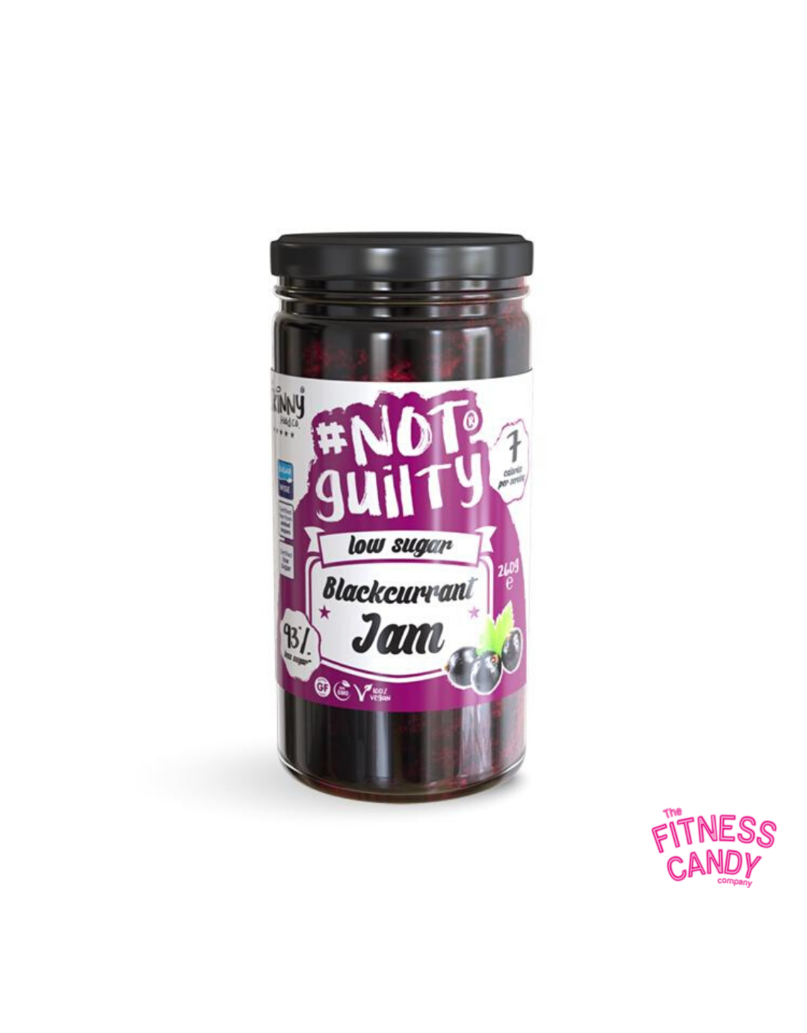 THE SKINNY FOOD CO #NOTGUILTY Blackcurrant Jam