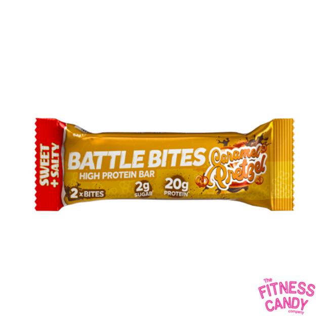 BATTLE BITES Caramel Pretzel THTH 22/1