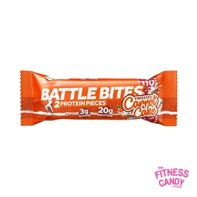 BATTLE BITES Carrot Cake