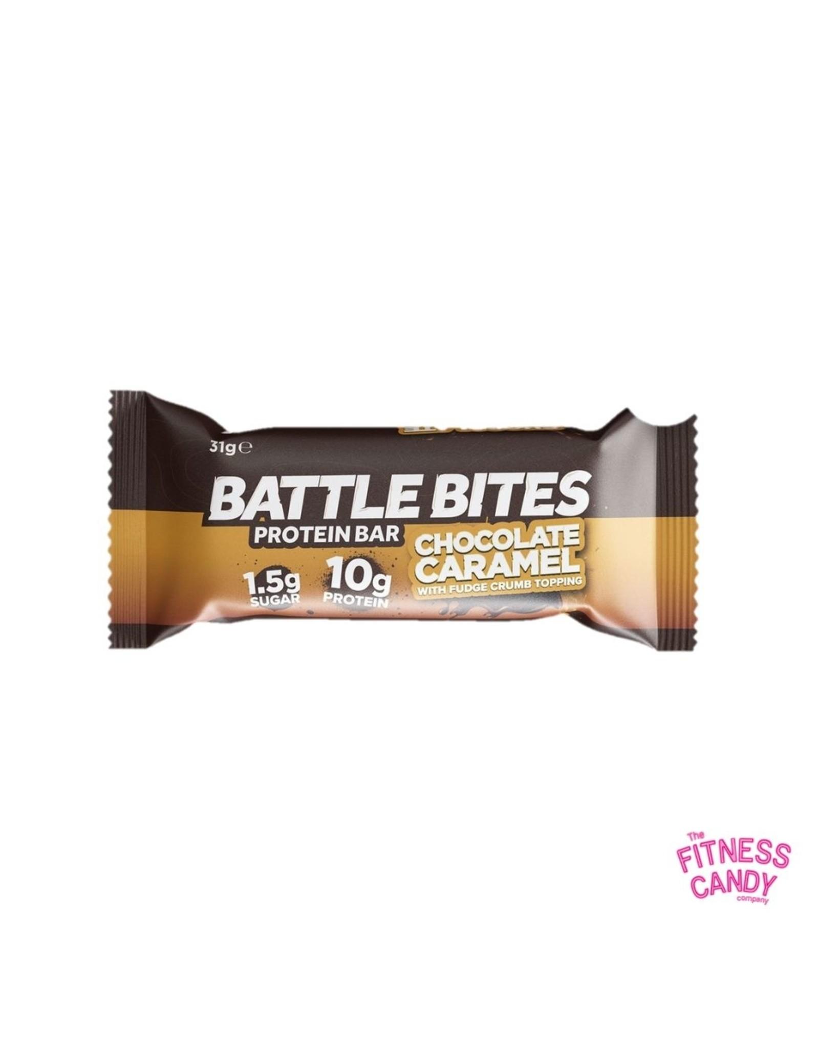 BATTLE BITES BATTLE BITES MINI chocolate caramel