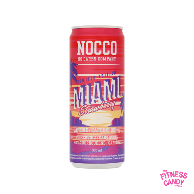 NOCCO Miami Strawberry  THT 28/4/21