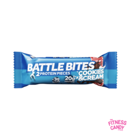 BATTLE BITES BATTLE BITES Cookies & Cream