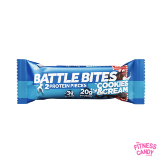 BATTLE BITES BATTLE BITES Cookies & Cream