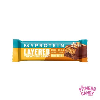 MY PROTEIN 6 LAYER BAR Peanut Butter THT 29/07/21