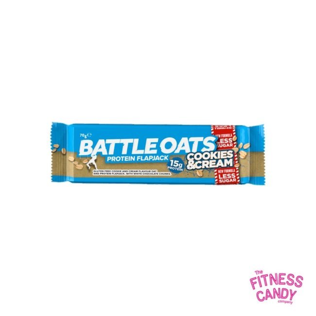 BATTLE OATS PROTEIN FLAPJACK Cookies And Cream