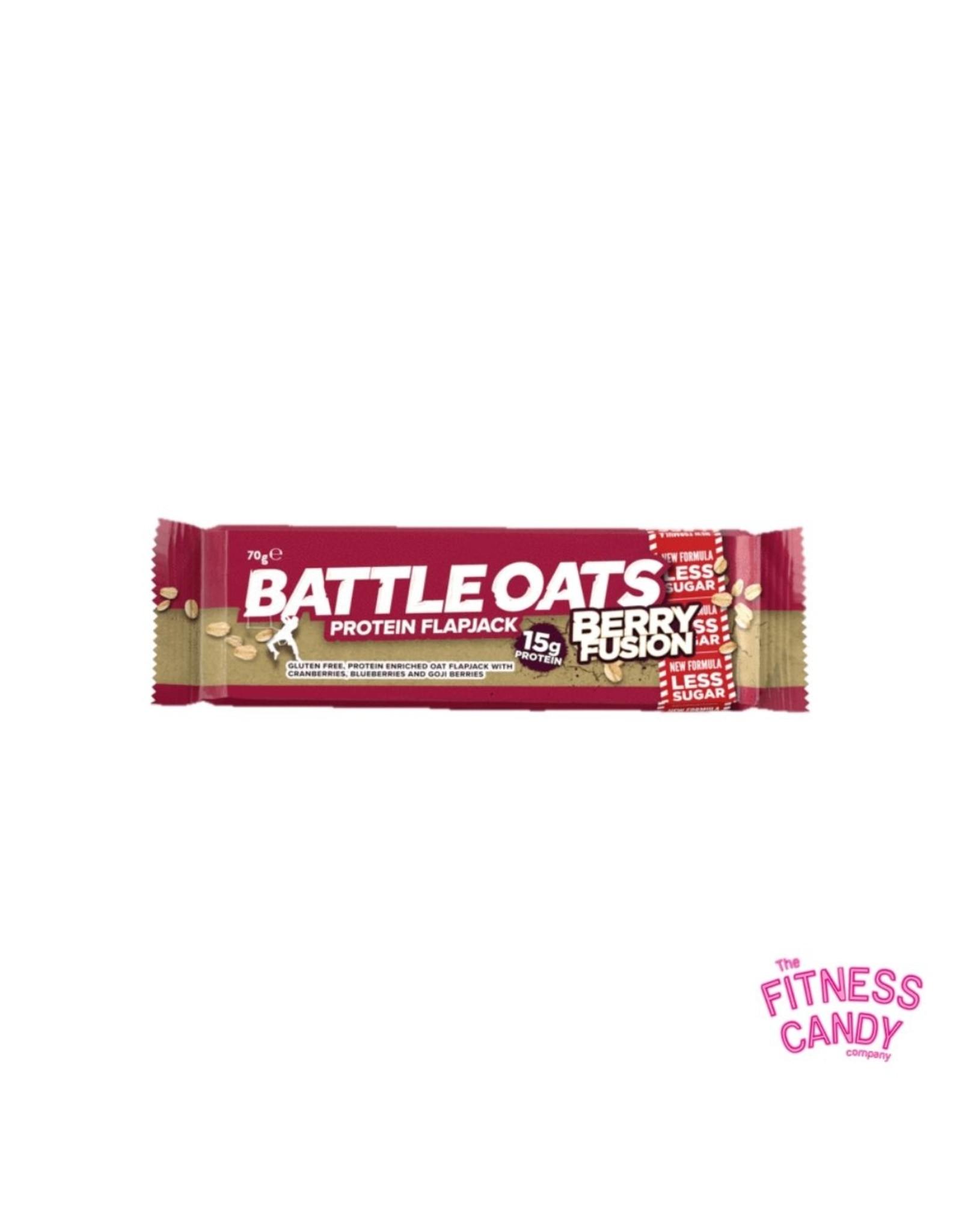 Battle Oats BATTLE OATS PROTEIN FLAPJACK BERRY FUSION