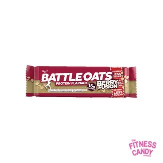BATTLE OATS PROTEIN FLAPJACK Berry Fusion THT 4/5/21