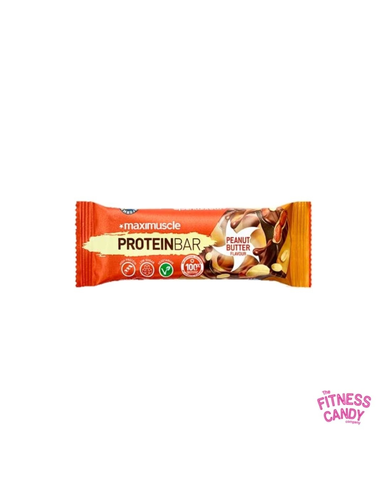 Maximuscle MAXIMUSCLE Peanut Butter Protein Bar