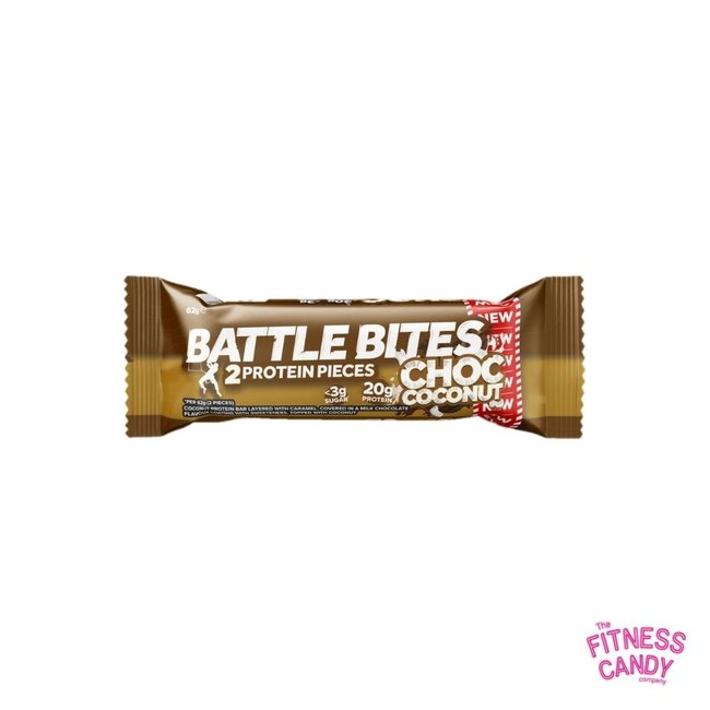 BATTLE BITES Choc Coconut