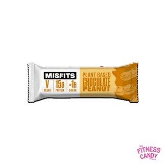 MISFITS MISFITS VEGAN PROTEIN BAR Chocolate Peanut