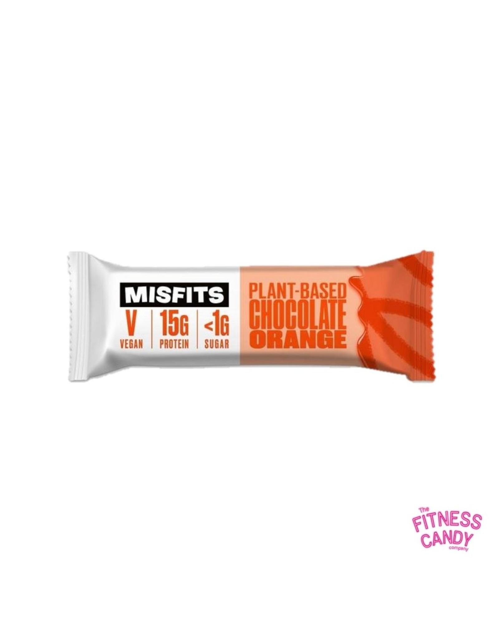 Misfits MISFITS VEGAN PROTEIN BAR – CHOCOLATE ORANGE