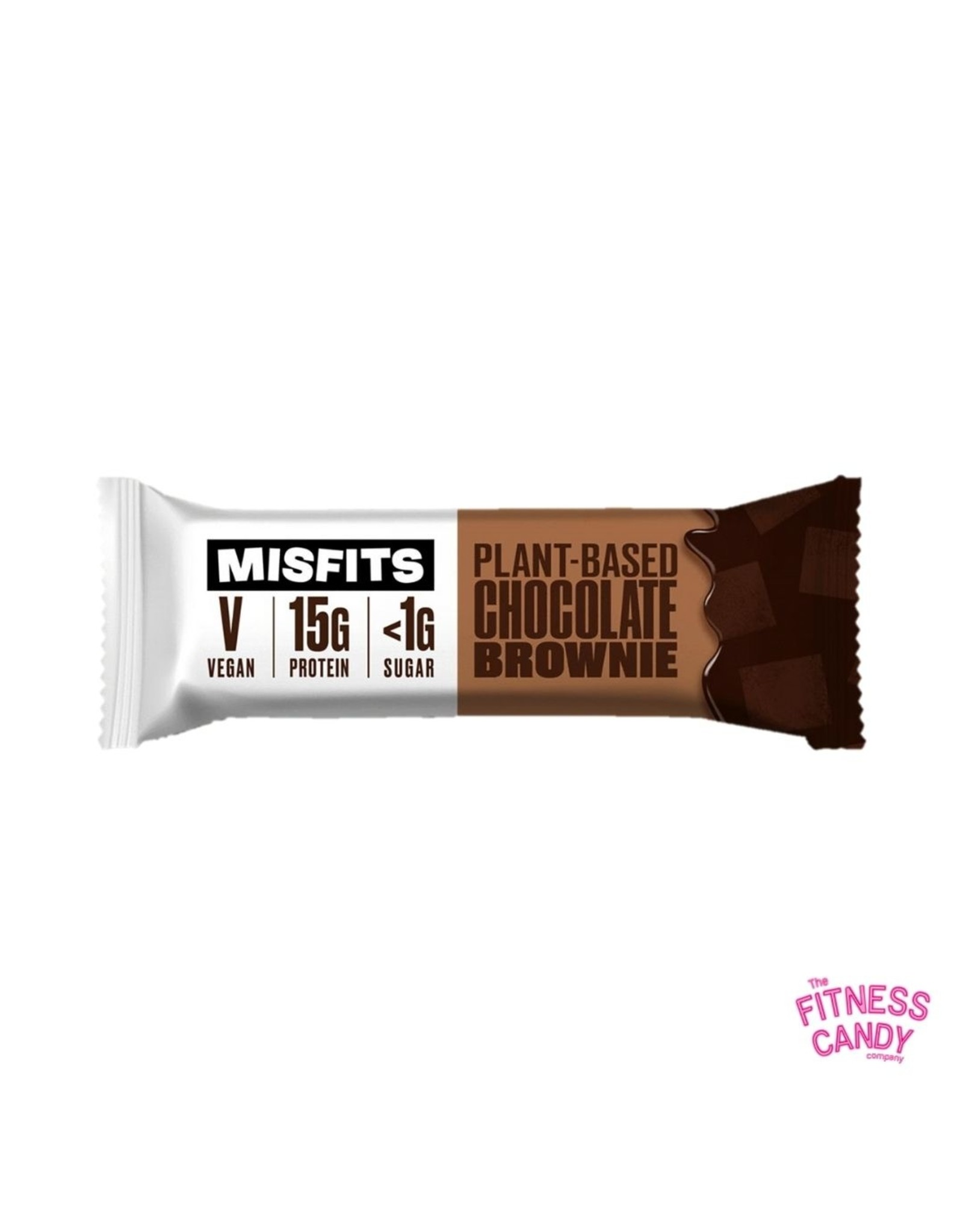 Misfits MISFITS VEGAN PROTEIN BAR – CHOCOLATE BROWNIE