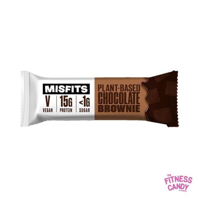 MISFITS VEGAN PROTEIN BAR Chocolate Brownie