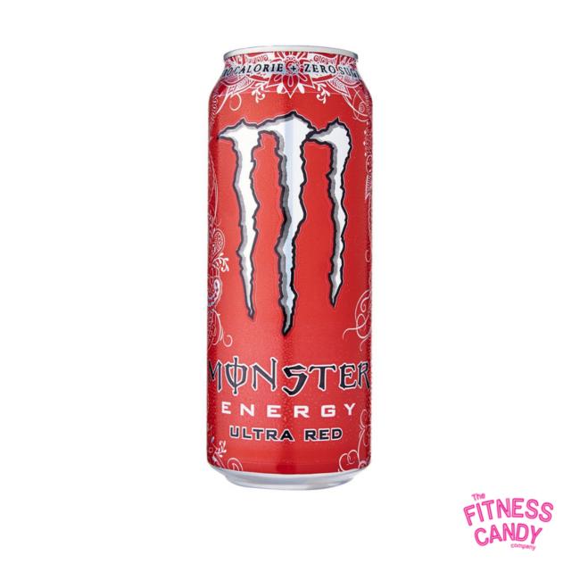 MONSTER Zero Ultra Red