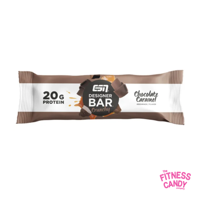 ESN DESIGNER BAR Crunchy Chocolate Caramel
