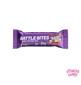 BATTLE BITES Battle Bites Glazed Sprinkled Donut