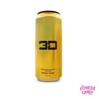 3D 3D ENERGY DRINK Pineapple Coconut