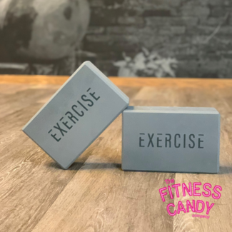 The Fitness Candy Company EXERCISE Yoga Blok