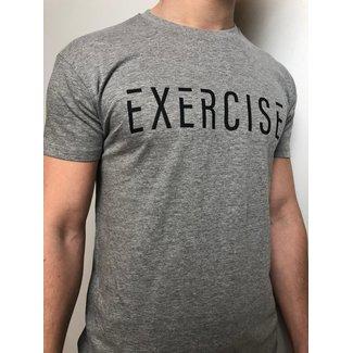 EXERCISE EXERCISE T-SHIRT GRIJS Unisex