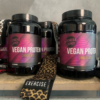 The Fitness Candy Company VEGAN PROTEIN + BOOTY BAND