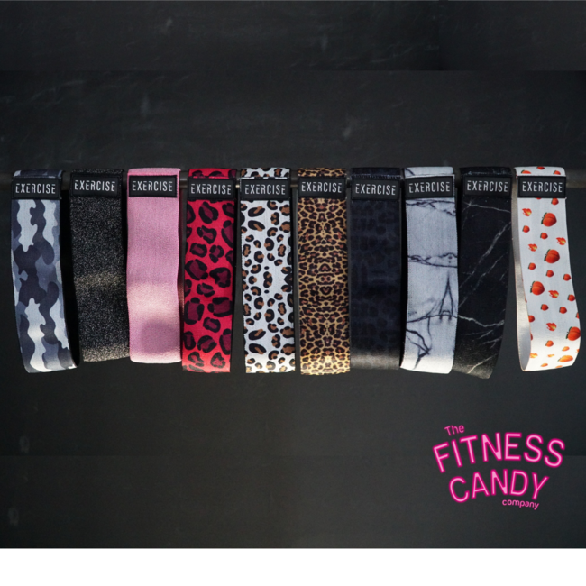 The Fitness Candy Company EXERCISE BOOTY BANDS