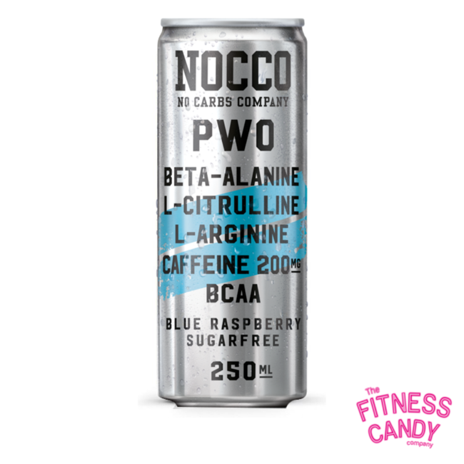 NOCCO NOCCO Pre-Workout Blue Raspberry