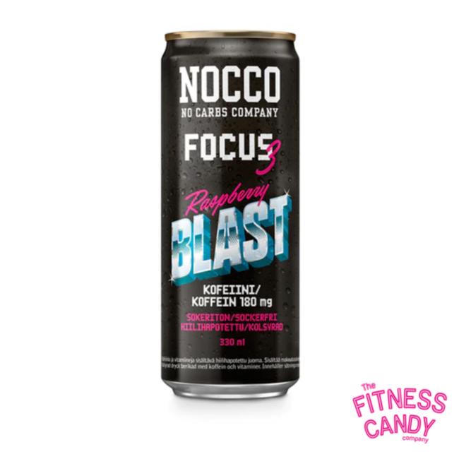 NOCCO Focus Raspberry Blast